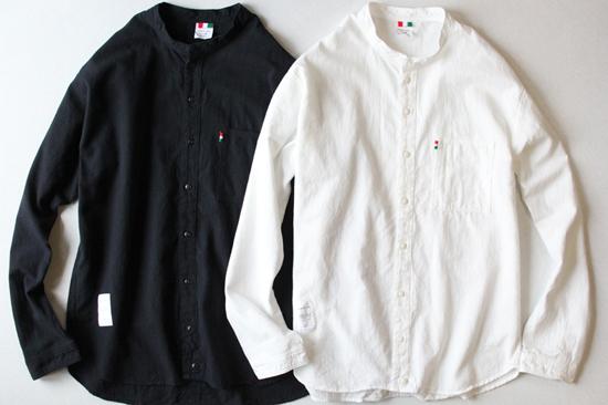 LIBE × REMILLA L&R COTTON ROUND NECK SHIRTS