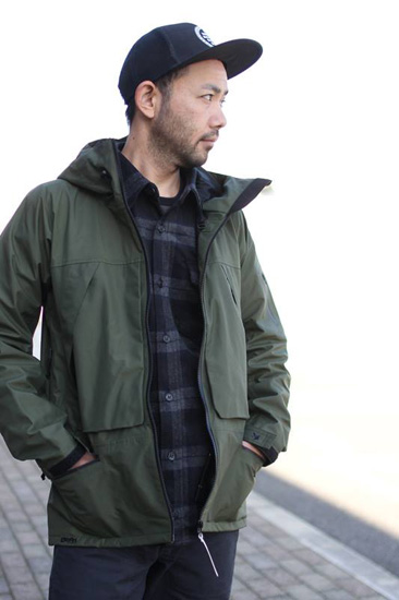 GREENCLOTHING OGA JACKET + WOOL FLANNEL SHIRTS