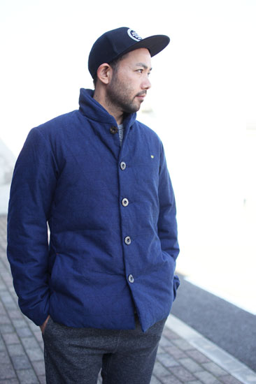 GOHEMP (ゴーヘンプ) MEN'S BOTANICA JACKET (SASHIKO)