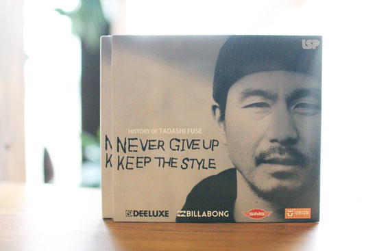 LIFESTYLE PRODUCTION「HISTORY OF TADASHI FUSE NEVER GIVE UP KEEP THE STYLE」(SNOWBOARD DVD)
