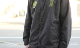 GOHEMP NOT WAR COACH JACKET