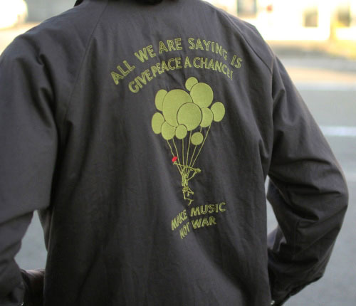 GOHEMP (ゴーヘンプ) MEN'S NOT WAR COACH JACKET