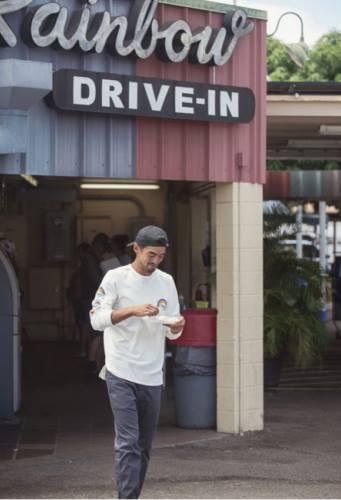 PIG&ROOSTER (ピッグアンドルースター) 2017A/W HALE SWEATSHIRT CREW/RAINBOW DRIVE-IN