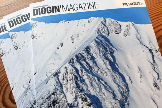 「DIGGIN'MAGAZINE vol.10 ~THE MIXTAPE #1~ 」雑誌