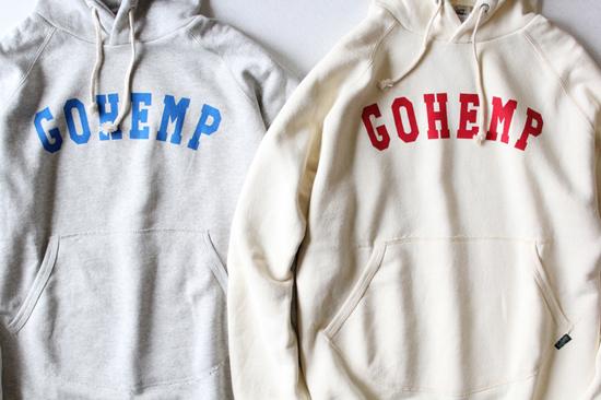"GOHEMP (ゴーヘンプ) ""GOHEMP"" PULL PARKA"