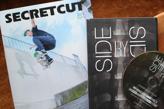 SECRETCUT (シークレットカット)「SIDE BY SIDE」(SKATEBOARD DVD)