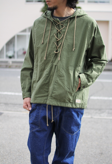 GOWEST (ゴーウエスト) MEN'S LACE UP SHIRTS