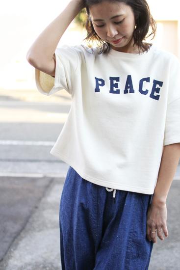 "GOHEMP (ゴーヘンプ) LADY'S ""PEACE"" SHORT TEE"