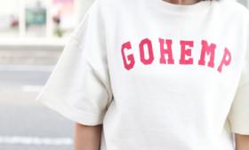 GOHEMP レディースショートTEE
