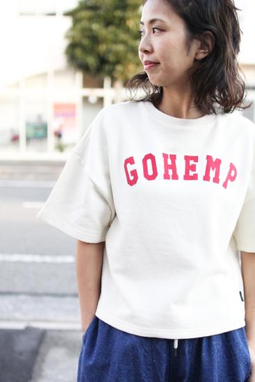 """GOHEMP (ゴーヘンプ) LADY'S """"GOHEMP"""" SHORT TEE"""