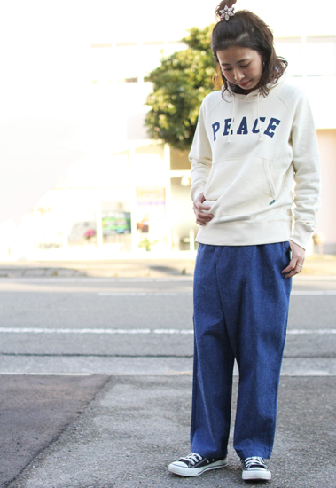 GOHEMP (ゴーヘンプ) LADY'S WRAP JOINT PANTS