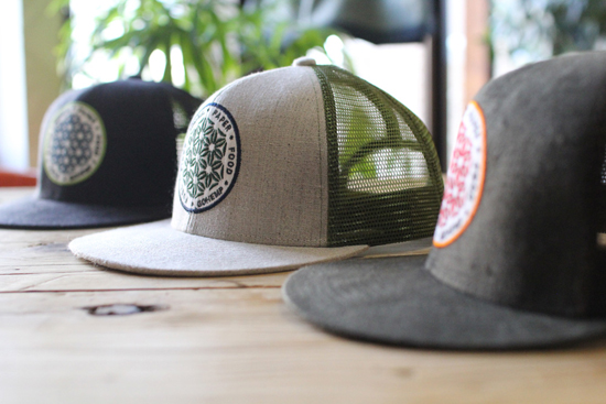 GOHEMP (ゴーヘンプ) SYMBOL OF HEMP MESH CAP