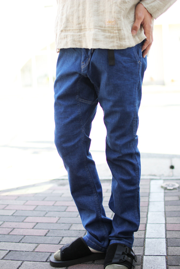 GOWEST (ゴーウエスト) CLIMBING TROUSERS / ARMY CORD STRETCH PEACH