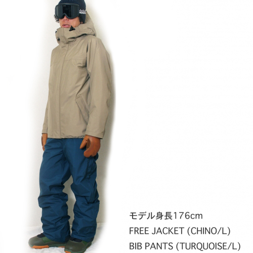 GREENCLOTHING 18-19 着用画像
