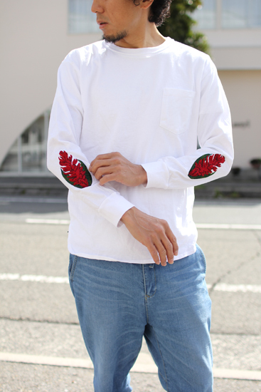 PIG&ROOSTER (ピッグアンドルースター) 2018S/S RED GINGER LONGSLEEVE T