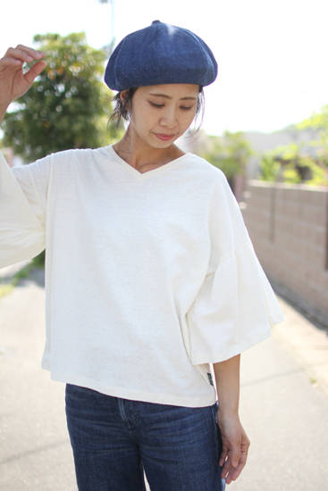 GOHEMP (ゴーヘンプ) FRENCH BERET / SLUB NEP 11oz DENIM