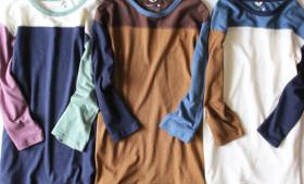 GOHEMPマルチカラーフットボールTEEシャツ