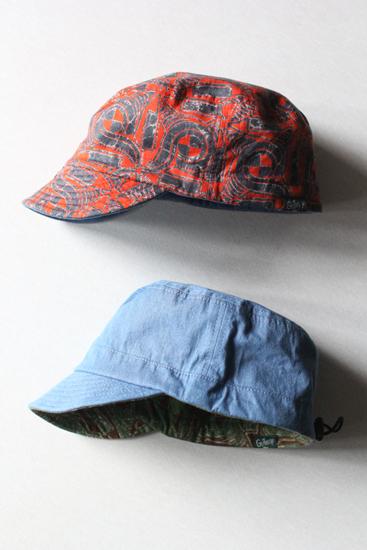 GOHEMP (ゴーヘンプ) PORTER CAP / AFRICAN BATIK