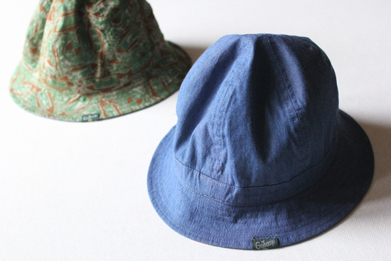 GOHEMP (ゴーヘンプ) SAFARI HAT / AFRICAN BATIK