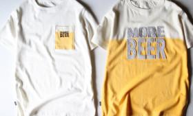 """JAVARA """"MORE BEER"""" TEE"""