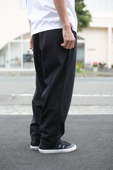 POLAR (ポーラー) SURF PANTS (BLACK)