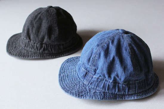 REMILLA OVAL DENIM CAP