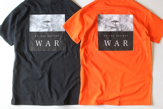 ENiGMa (エニグマ) NO WAR T-SHIRT