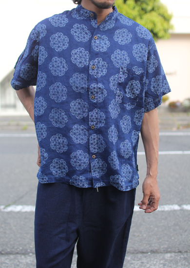 GOHEMP (ゴーヘンプ) YURURI NO COLLAR SHIRTS