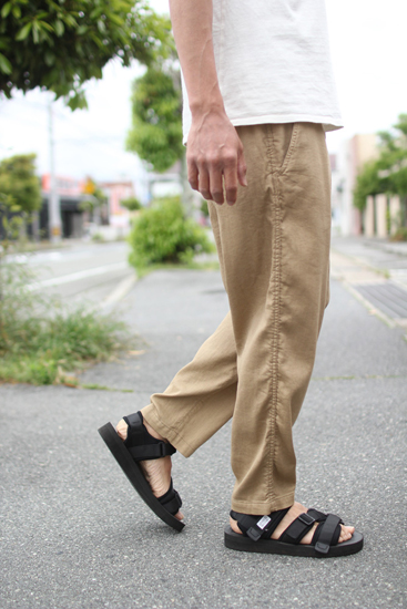 GOWEST (ゴーウエスト) MEN'S E.G.PANTS / DUSTY PIQUE