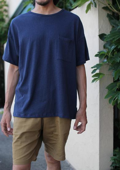 GOHEMP ( ゴーヘンプ ) × JAU ( ジャウー ) コラボTシャツ WIDE PK TEE