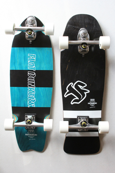flatbunkers (フラットバンカーズ) サーフスケートボード