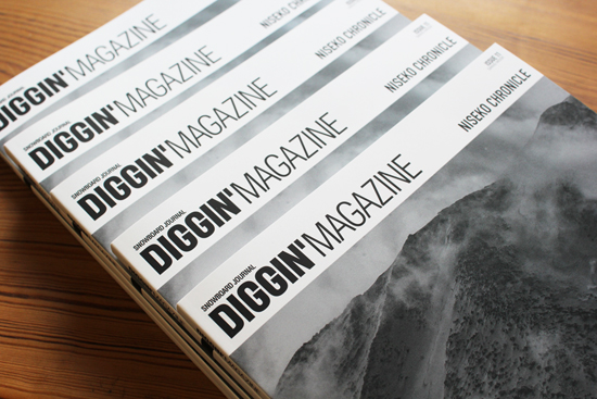 「DIGGIN'MAGAZINE vol.11 ~NISEKO CHRONICLE~」入荷