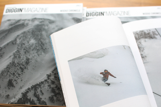 「DIGGIN'MAGAZINE vol.11 ~NISEKO CHRONICLE~」雑誌