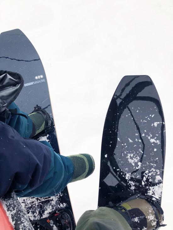 gentemstick ゲンテンスティック THE SNOW SURF ザ スノーサーフ DRIFTER ドリフター 155