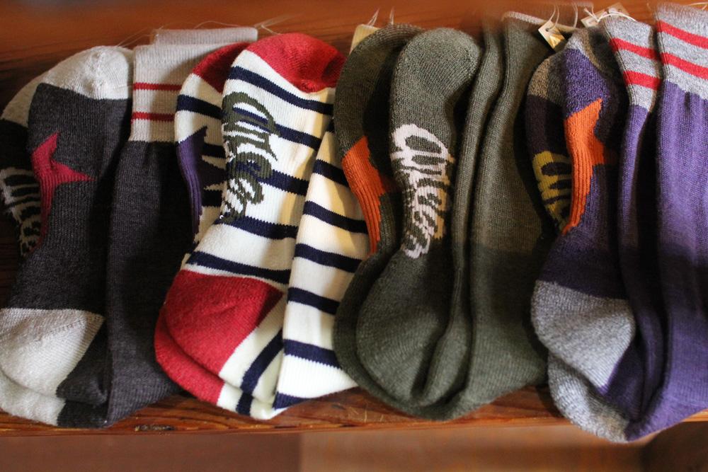 19-20 greenclothing (グリーンクロージング) wool socks