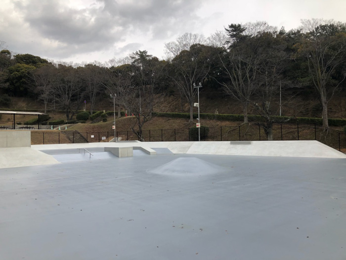 姫路手柄山スケートボードパーク