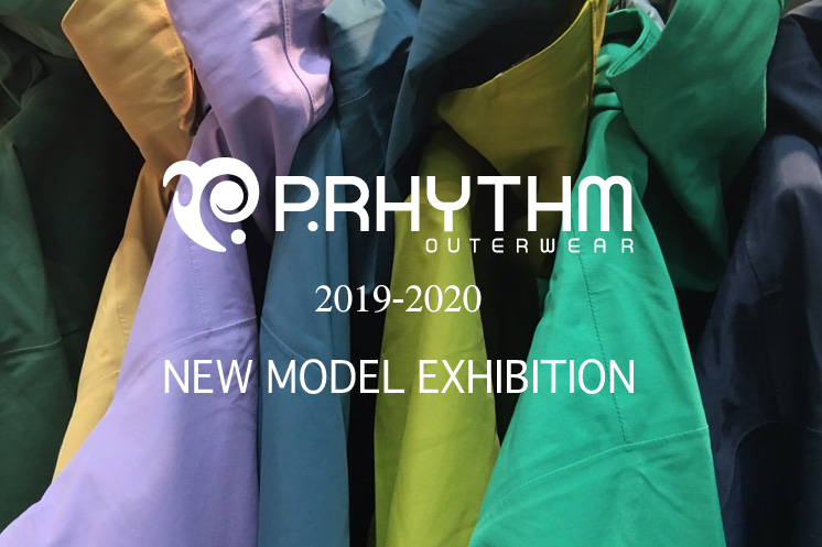 2019-2020 P.RHYTHM (プリズム) OUTERWEAR 展示会