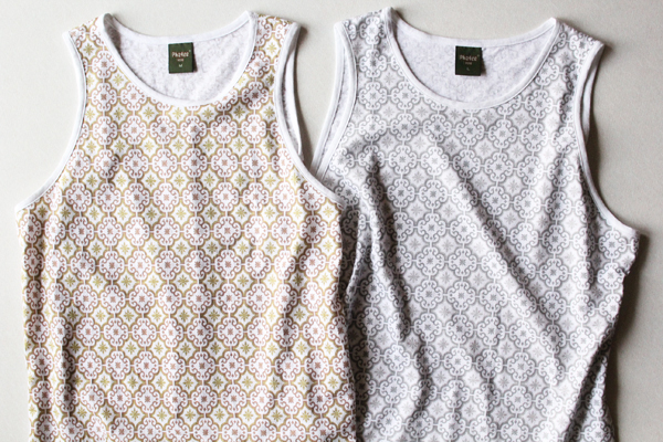 PHATEE ( ファッティー ) HEALTHY TANK TOP PRINTED