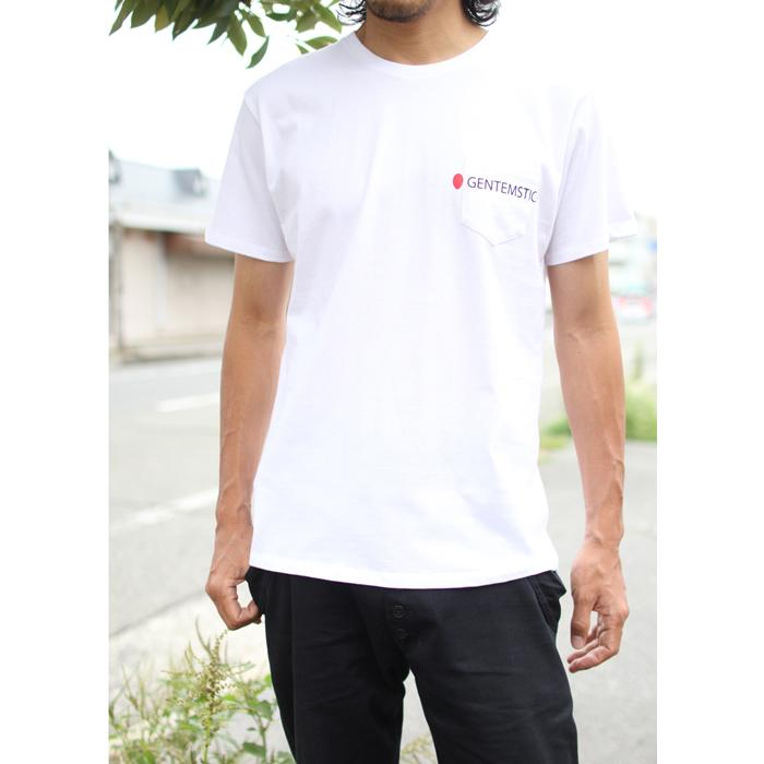 GENTEMSTICK ( ゲンテンスティック ) 2019 summer Tシャツ NEW LOGO POCKET TEE