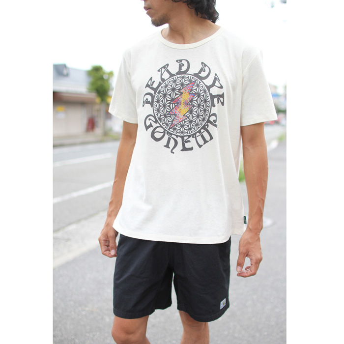 GOHEMP ( ゴーヘンプ ) Tシャツ MEN'S ASAGARA BOLT TEE GHC4200DD118