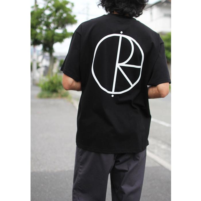 POLAR SKATE CO. ( ポーラー ) Tシャツ STROKE LOGO TEE (BLACK)