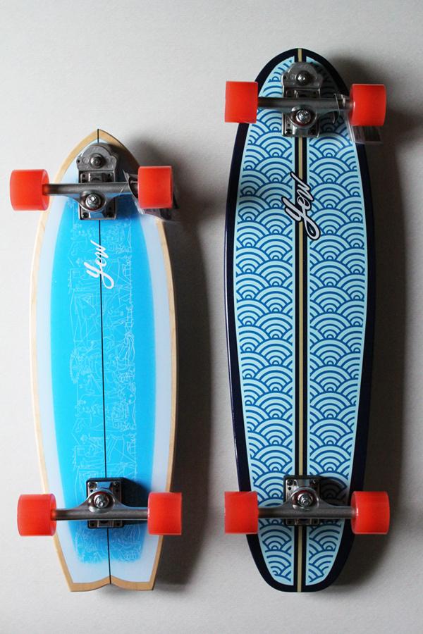 YOW SURF SKATE ( ヤウサーフスケート ) ARITZ ARANBURU