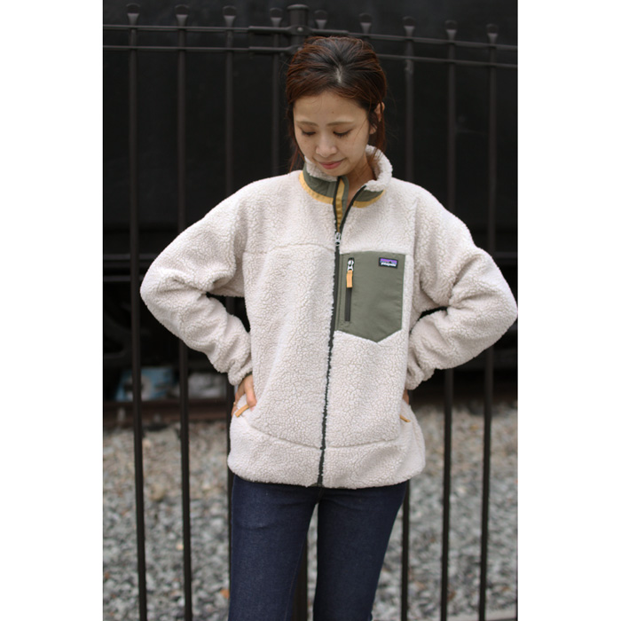 PATAGONIA ( パタゴニア ) ジャケット KID'S(LADY'S) RETRO-X JACKET (NAIB) 65625