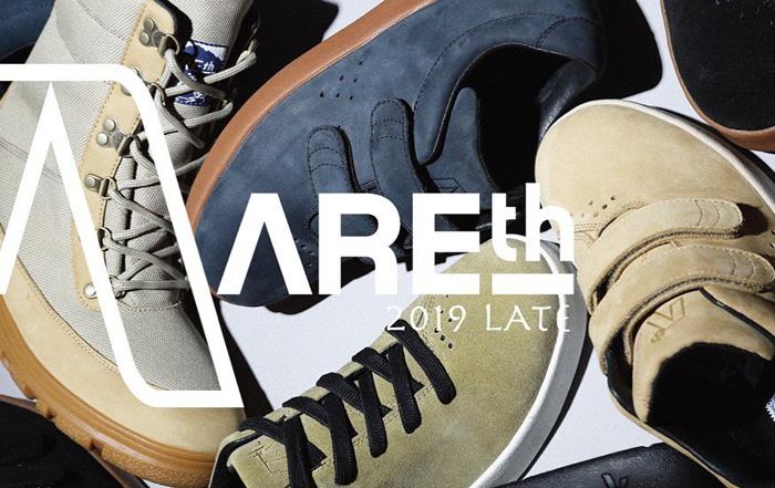 AREth ( アース ) 2019LATE 予約商品 I velcro ( NAVY NUBUCK )
