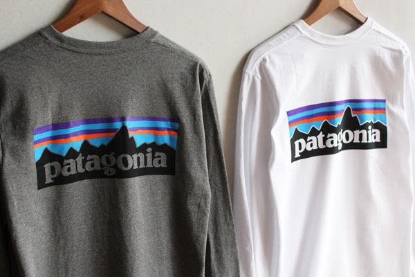 "PATAGONIA ( パタゴニア ) ""MEN'S L/S P-6 LOGO RESPONSIBILI TEE""入荷"