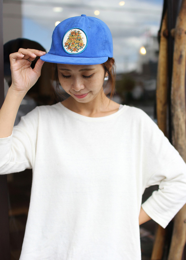 GOWEST ( ゴーウエスト ) キャップ GRATEFUL DAY CORDUROY CAP / SOUVENIR SERIES ( ROYAL ) GWG4006HGD