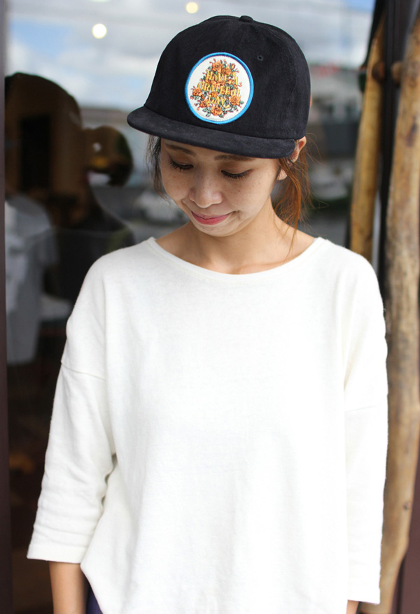 GOWEST ( ゴーウエスト ) キャップ GRATEFUL DAY CORDUROY CAP / SOUVENIR SERIES ( BLACK ) GWG4006HGD
