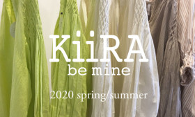 KiiRA 2020 spring/summer ご予約受付開始!!