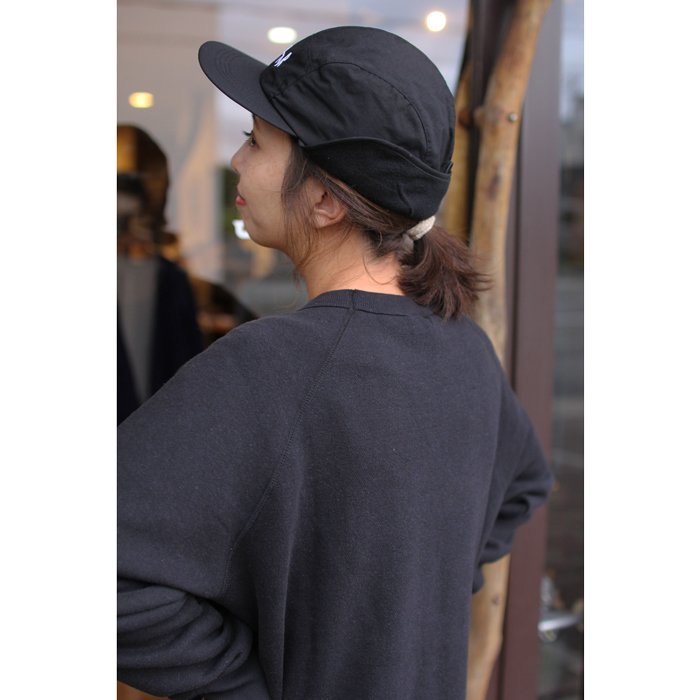 POLAR SKATE CO. ( ポーラー ) キャップ FLAP CAP ( BLACK )