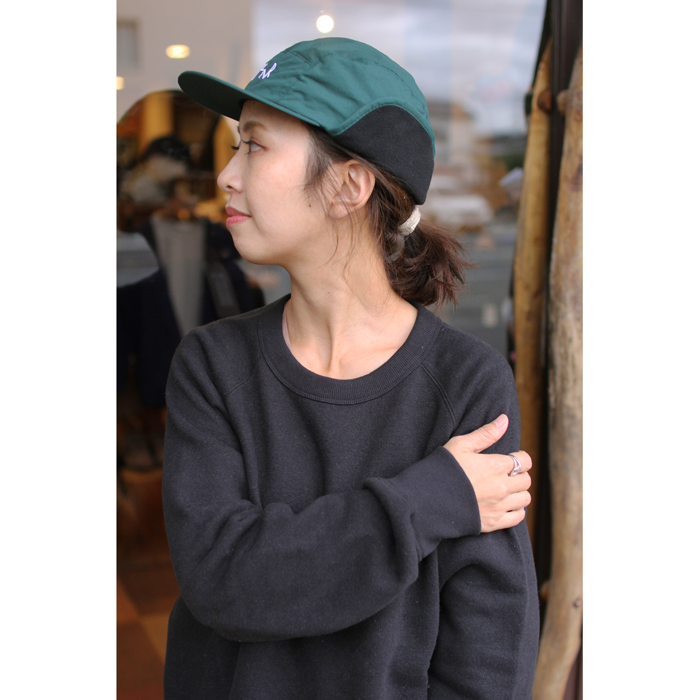 POLAR SKATE CO. ( ポーラー ) キャップ FLAP CAP ( DARK GREEN )